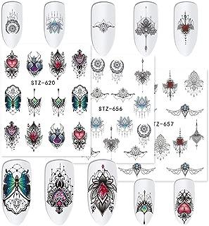 Best black flower nail art Reviews