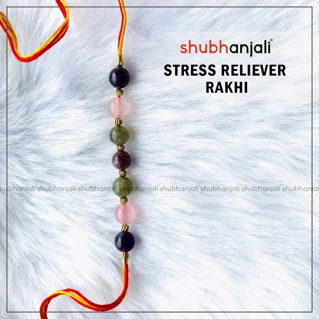 Shubhanjali Customized Stress Reliever Rakhi