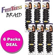 Freetress Synthetic Crochet Bulk Baid Hair - GOGO CURL 26