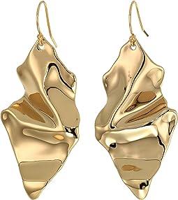 Crumple Wire Earrings