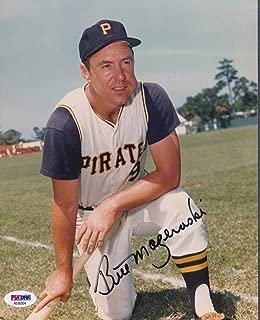 Bill Mazeroski Pirates Autographed Signed Memorabilia 8x10 Photo Autograph Auto - PSA/DNA Authentic