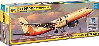 Zvezda 7031 500787031-1 500787031 – 1:144 TU-204-100C Cargo – Plastic Construction Model Assembly Kit – for Beginners – De...