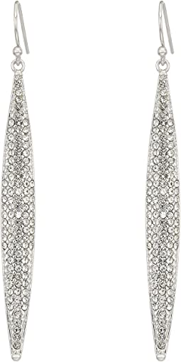 Vince Camuto - Crystal Pave Spear Earrings