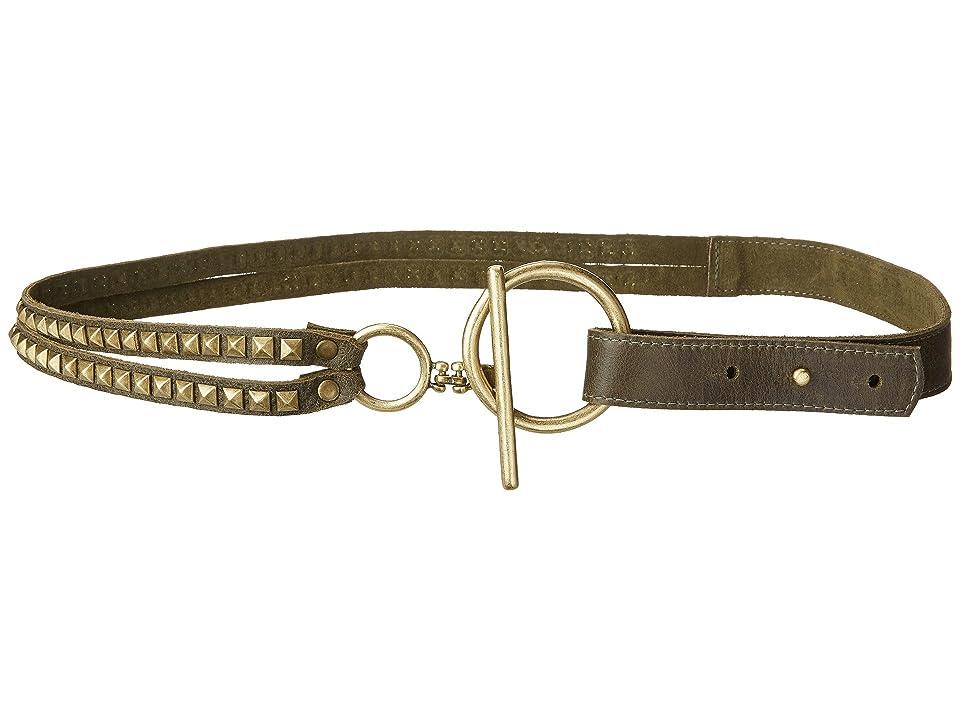 Leatherock Roxy Belt (Olive/Moss) Women