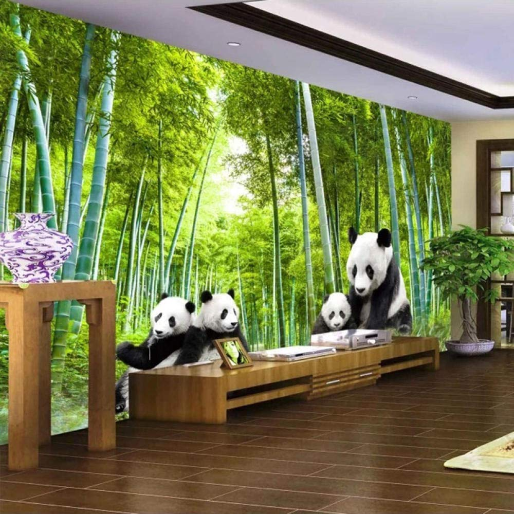 3D Photo Wallpaper Green trust Bamboo Poster Wall Forest Spasm price Picture Panda