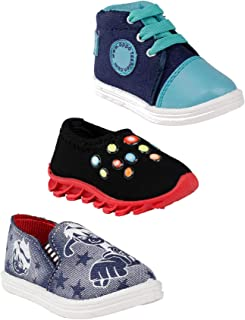 Hot-X Baby Boys Shoes - Combo of 3