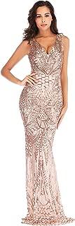 Best gold fishtail maxi dress Reviews