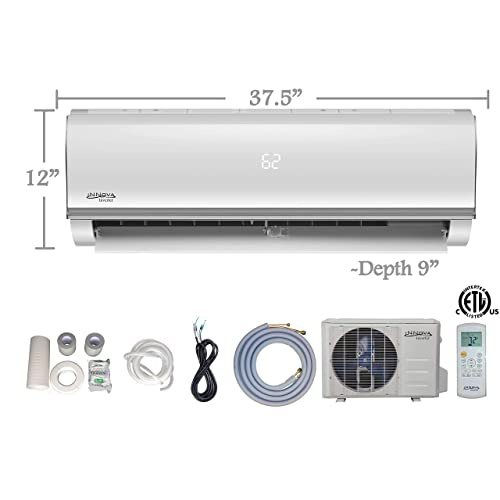 Innova 18000 BTU Ductless Mini-Split Air Conditioner – Inverter SEER 15 – Cooling &