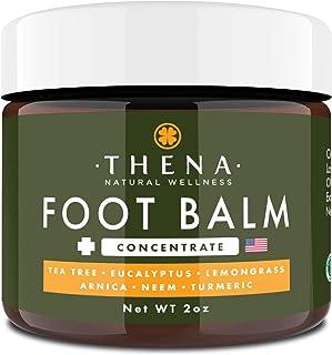 Tea Tree Oil Antifungal Cream Extra Strength, Athletes Foot Balm Dry Skin Cracked Feet & Heel Jock Itch Relief Toenail Fun...