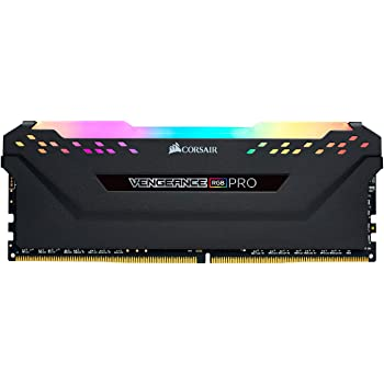 Corsair VENGEANCE RGB PRO 32GB (2x16GB) DDR4 3600 (PC4-28800) C18 AMD Optimized Memory – Black