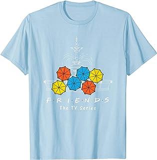 Friends Fountain And Umbrellas T-Shirt