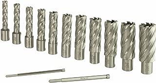 Steel Dragon Tools 13pc. High Speed Steel HSS Annular Cutter Kit 2