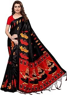 Tryme Fashion Silk Saree With Blouse Piece