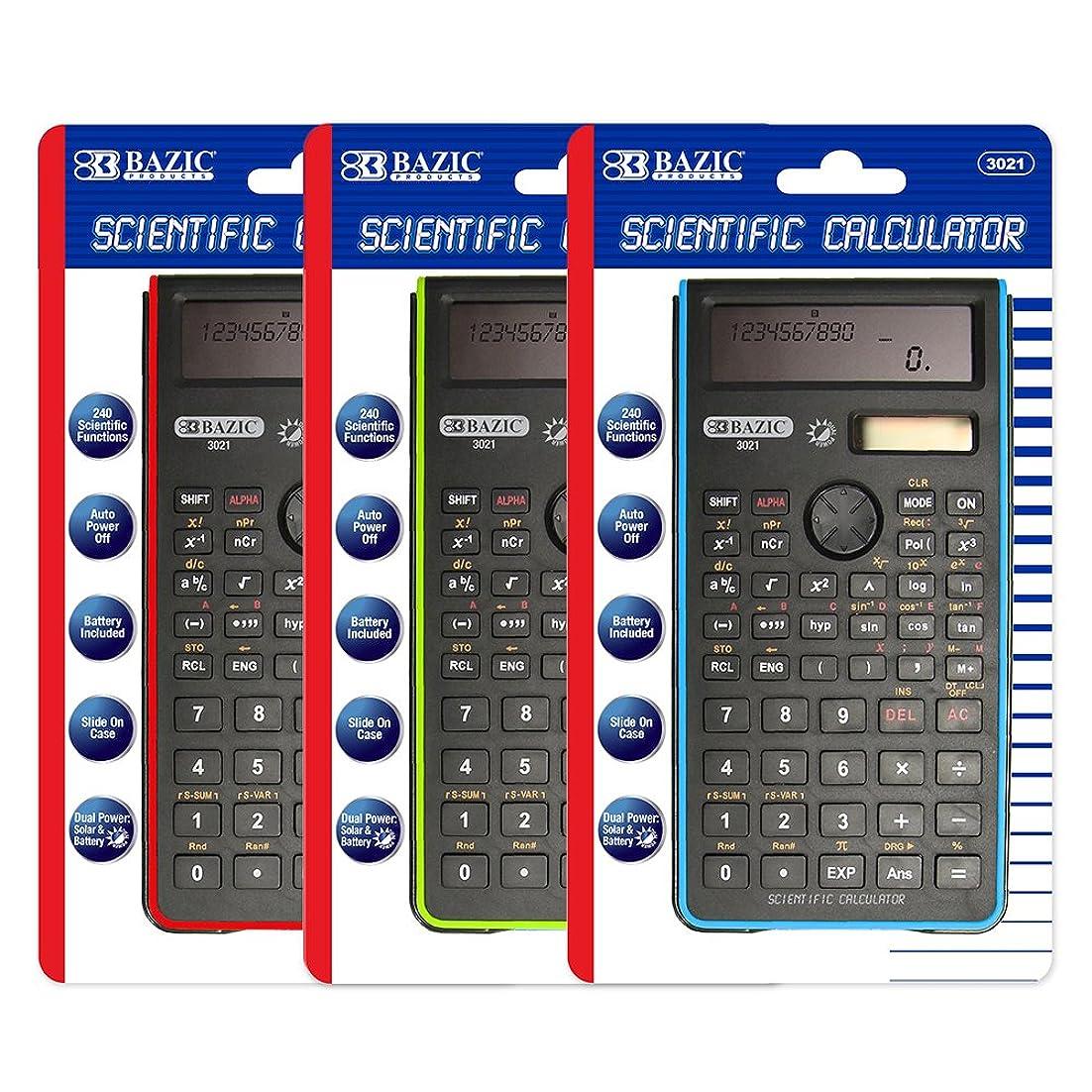前提条件ストライド地域BAZIC 3021エンジニアリング/ Scientific Calculator