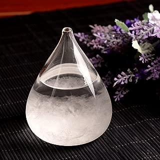 Christmas's Day Creative Stylish Desktop Drops Storm Glass Crafts Weather Bottle Forecast Bottle Barometer -Mini ¡