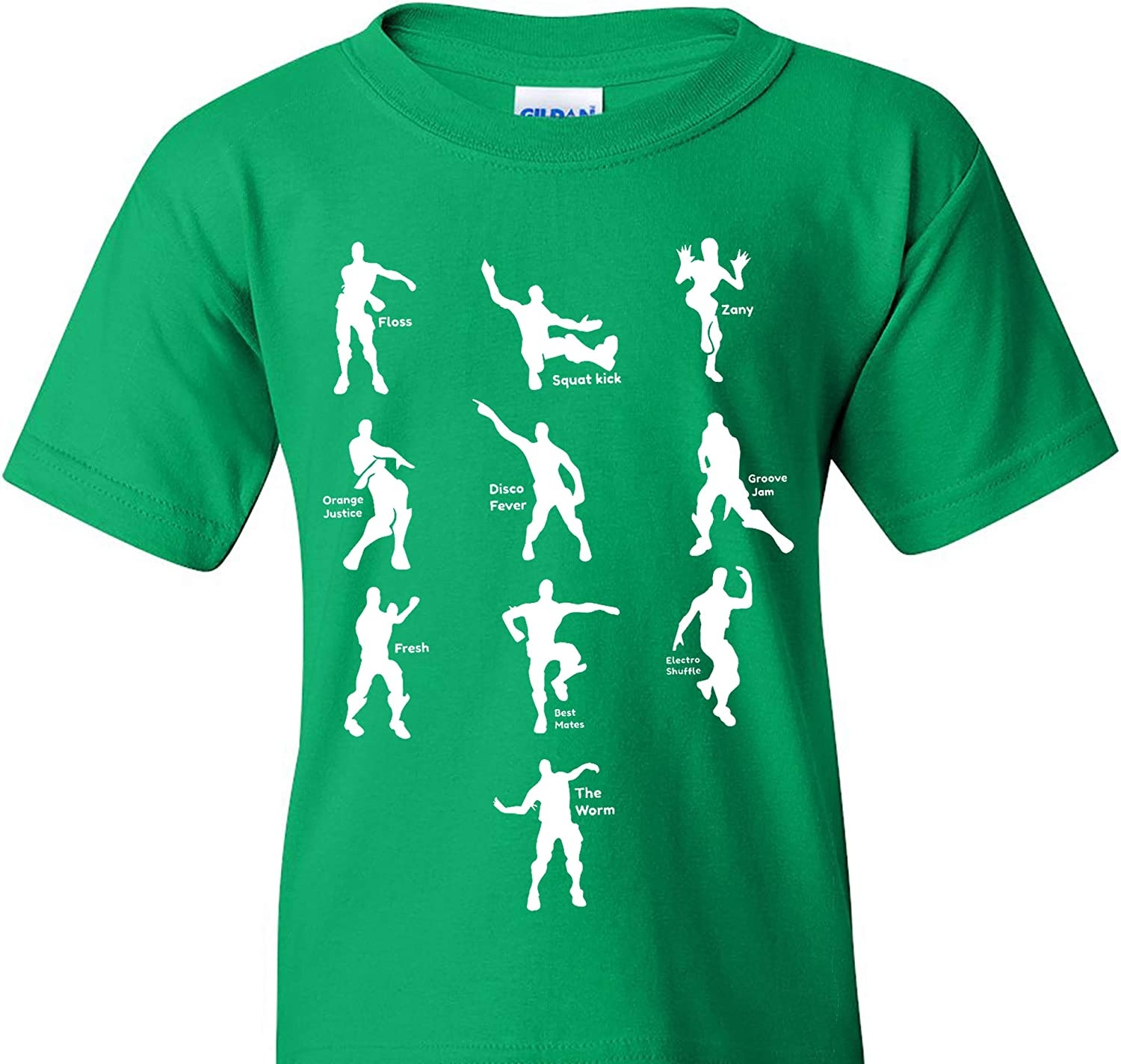 UGP Campus Apparel Emote Max 51% OFF Dances Funny T quality assurance Youth - Shirt