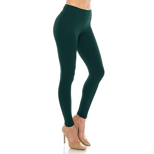 012618d754da9 ALWAYS Leggings Women High Waist - Premium Buttery Soft Yoga Workout  Stretch Solid Pants
