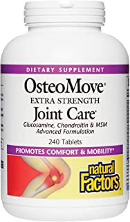 Natural Factors, OsteoMove Joint Care, Extra Strength Support for Joint and Bone Health, Non-GMO, 240 tablets (120 servings)