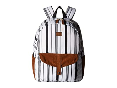 Roxy Carribean Backpack (Marshmallow Licorce Spice) Backpack Bags
