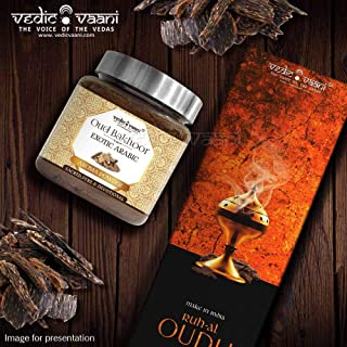 Oud Bakhoor Exotic Arabic Fragrance of Pure Perfumes Aroma Herbal Powder & Ruh-Al-Oudh Agarbatti Incense Stick for Home & ...