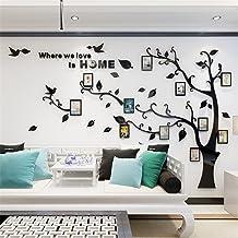 DIY 3D enorme fotolijst boom muurtattoos fotolijst boom muursticker kristal acryl schilderen wanddecoratie muurkunst (zwar...