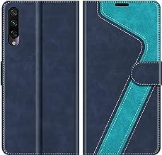 MOBESV Custodia Xiaomi Mi A3, Cover a Libro Xiaomi Mi A3, Custodia in Pelle Xiaomi Mi A3 Magnetica Cover per Xiaomi Mi A3, Elegante Blu