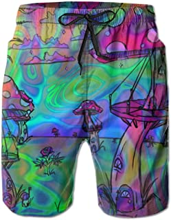 trippy mens shorts
