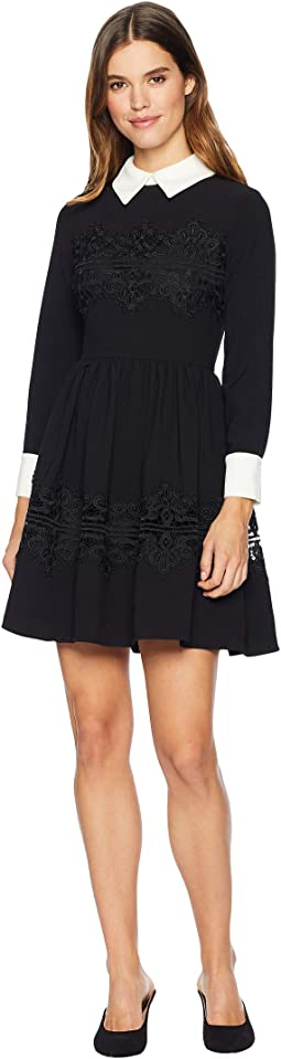 Haeden Collared Full Sleeve Dress