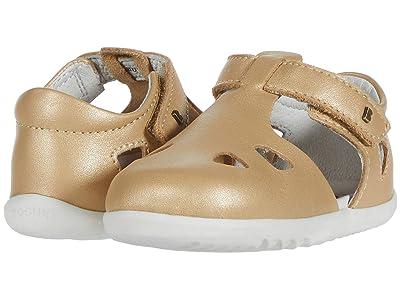 Bobux Kids Step Up Zap (Infant/Toddler) (Gold) Kids Shoes