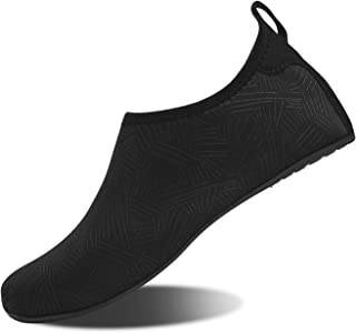 HMIYA Aqua Socks Beach Water Shoes Barefoot Yoga Socks Quick-Dry Surf Swim Shoes for Women Men