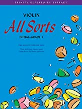 Violin All Sorts: Initial, Grade 1: Violin Part (Trinity Repertoire Library) by M ed. Cohen (1-Mar-2003) Paperback