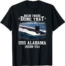 USS Alabama SSBN-731 T-Shirt Navy Ships Tee