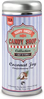 Candy Teas- Coconut Joy: All-Natural, Ceylon Black Tea, Coconut, Gluten Free, 24 servings