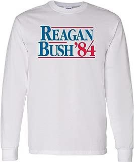 Reagan/Bush 84 - Long Sleeve Cotton T-Shirt