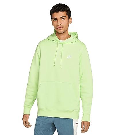 Nike NSW Club Hoodie Pullover (Light Liquid Lime/Light Liquid Lime/White) Men