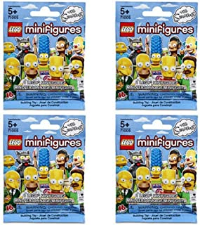 LEGO Minifigures Simpsons 4-Pack