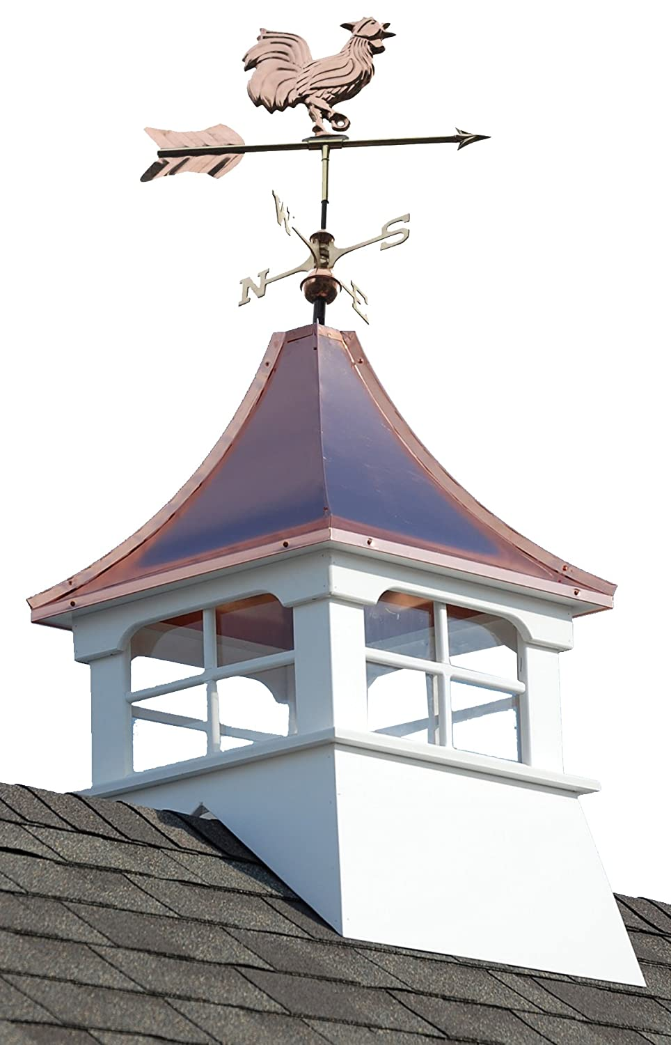 Accentua Charleston Cupola with Rooster 24 Squa OFFicial site Boston Mall Weathervane in.