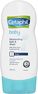 Cetaphil Baby Moisturizing Bath and Wash, 230ml