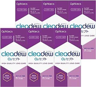 オフテクス cleadew(クリアデュー)O2セプト135ml、中和錠30錠、レンズケース付【6箱セット】
