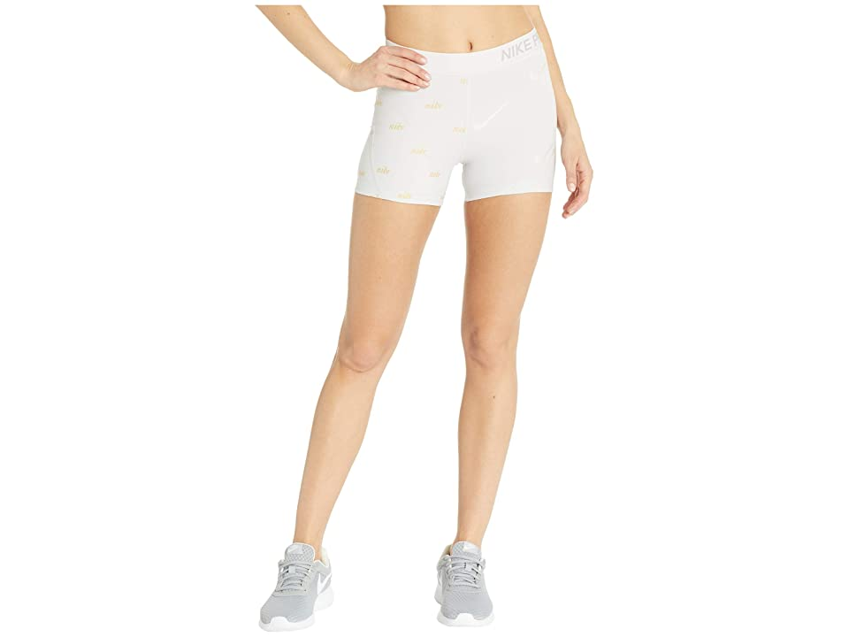 Nike Pro Shorts Metallic (Vast Grey/Atmosphere Grey) Women