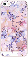 iPhone 5/5s/SE Case for Girls TPU Silicone Cute Slim Ultra Protective Clear Case