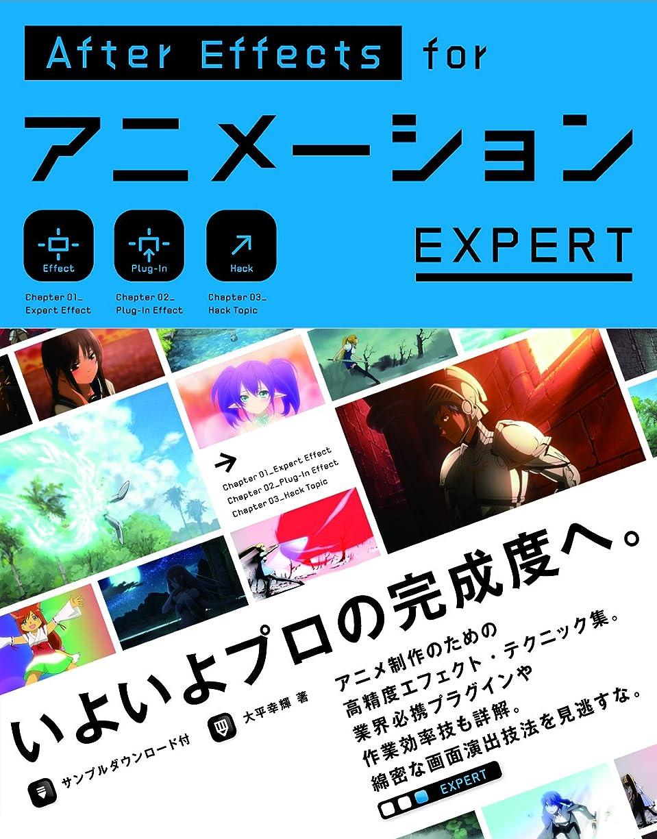 森フレア報奨金AfterEffects for アニメーション EXPERT