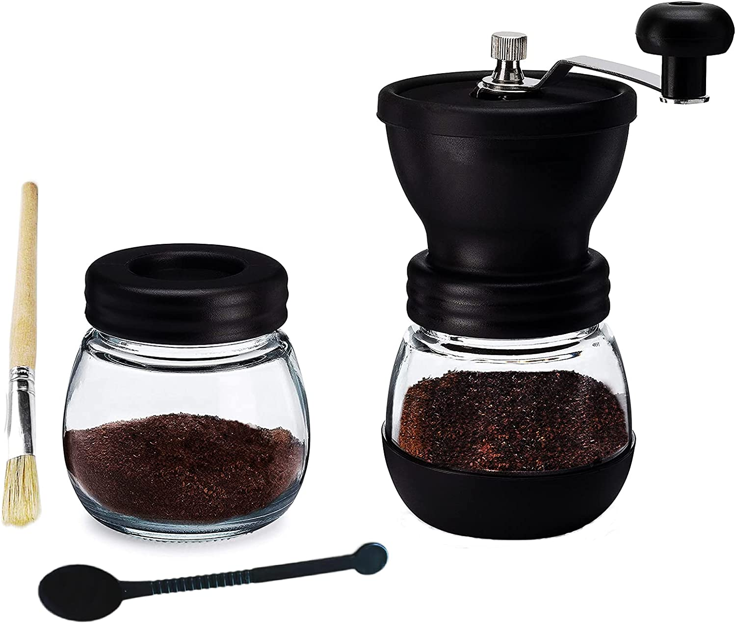 Soldering Manual Coffee Grinder Hand Ceramic A Soldering with Burrs