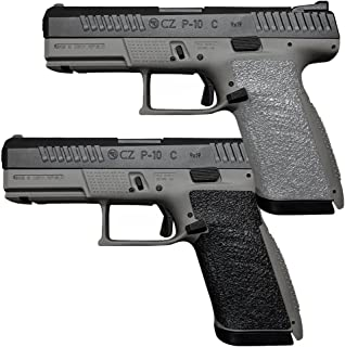 Galloway Precision TractionGrips Grip Overlay for CZ P-10 C Pistols