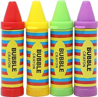 Emotions Bottle Bubble Crayons 4 Pieces