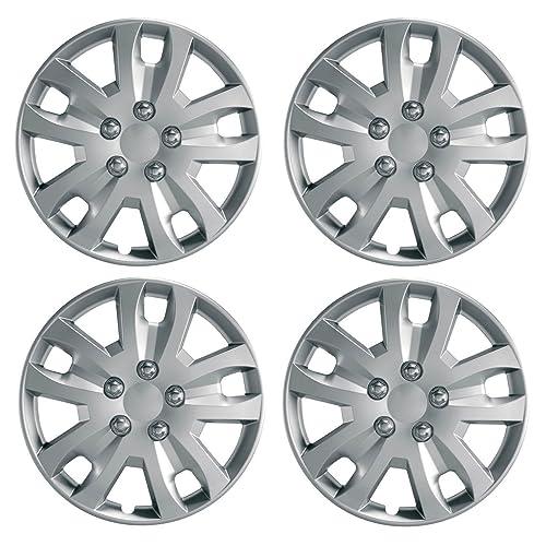 "UKB4C Set 4 Wheel Trims Hub Caps 16"" Covers fits Ford Focus Mondeo Kuga C-Max S-Max"