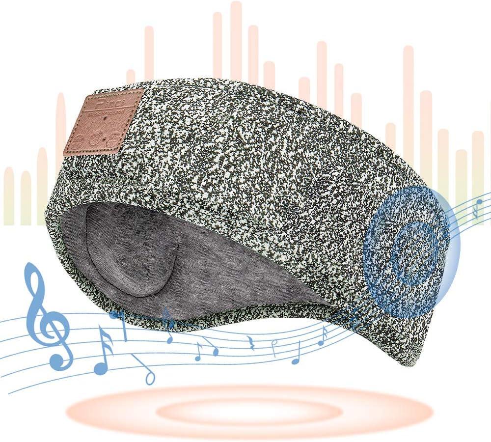 PINCI Sleep Headphones Bluetooth Headband, Soft Sleeping Wireless Music Sport Headbands with Breathable Fabric,Ultra-Thin Speakers Perfect for Sleeping, Workout, Insomnia,Yoga,Travel etc.