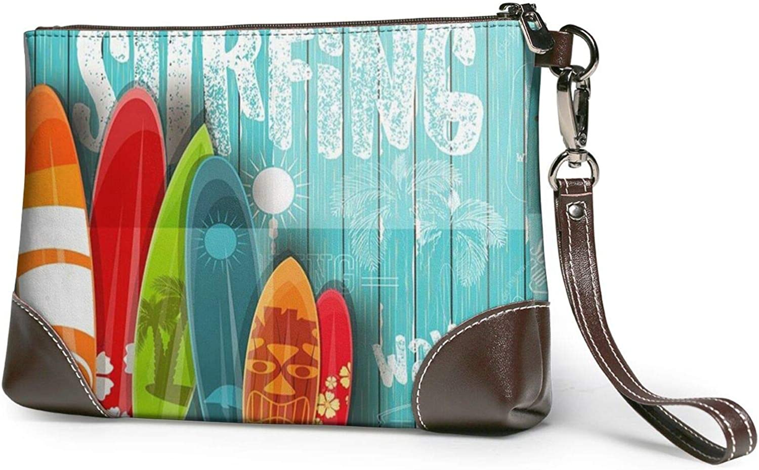 Surfboard Seasonal Wrap Introduction Chicago Mall In Vintage Style On Purses Turquoise Wooden Clutch Lea