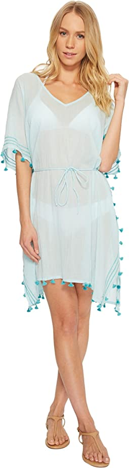 Mini Tassel Kaftan Cover-Up