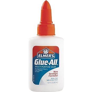 Elmer's Glue-All Multi-Purpose Liquid Glue, Extra Strong, 1.25 Ounces, 1 Count